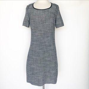 Maison Scotch 100% cotton gray casual dress